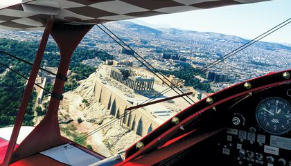 seeing Acropolis through flight simulator
