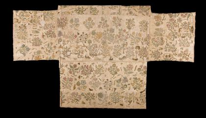 This Altar Cloth Might Have Been Elizabeth I's Skirt
