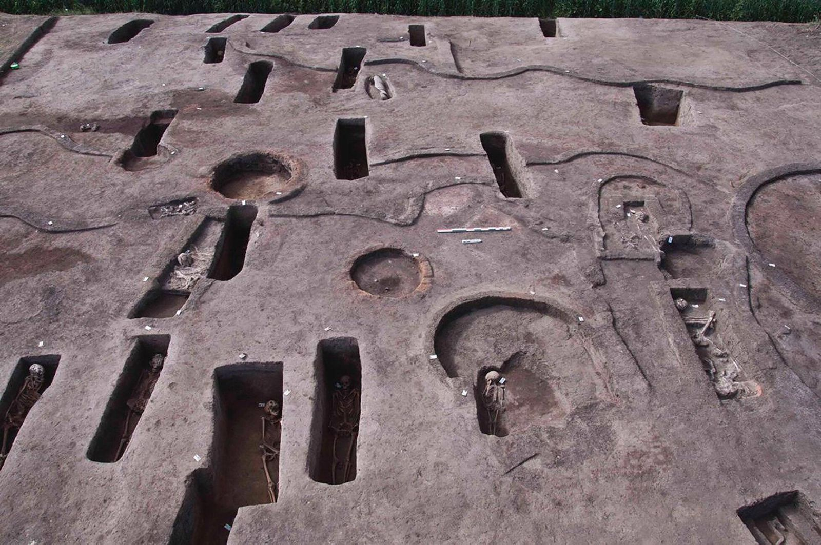 Archaeologists Discover 110 Ancient Egyptian Tombs Along the Nile Delta