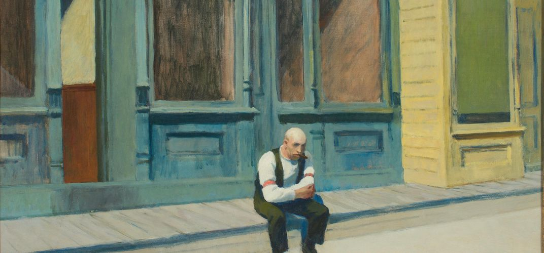 Edward Hopper, <i>Sunday</i>, 1926. Credit: The Phillips Collection, Washington, D.C.