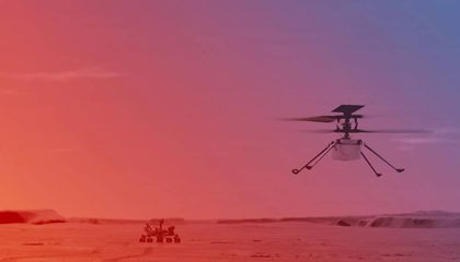 Mars Helicopter Ingenuity Holds Piece of Wright Brothers History