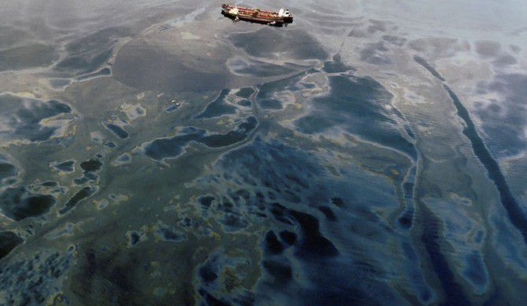 In 1989, the Exxon Valdez spilled over 42 million liters of oil off the Alaskan coast; it was the largest spill in U.S. coastal waters prior to the Deepwater Horizon disaster in 2010. (The Exxon Valdez never again entered U.S. waters and ended its days as the Oriental Nicety, beached in India for scrap.)