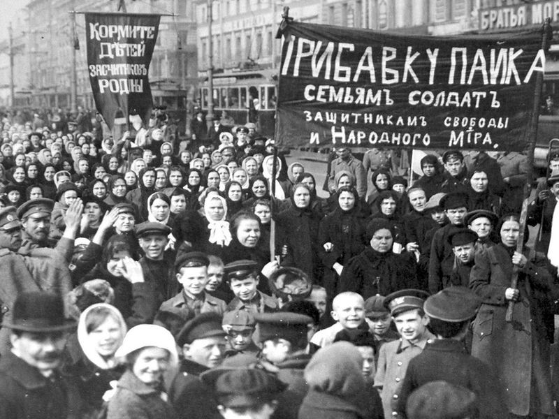 Image result for the russian revolution begins