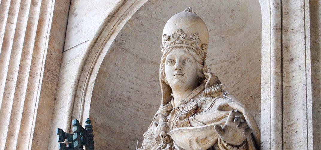 Caption: Why the Legend of Pope Joan Persists