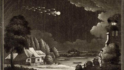 Scientists Didn't Believe in Meteorites Until 1803