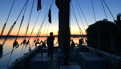 Nine Days of a Sailor-Scholar's Life Aboard the Canoe Circumnavigating the Globe