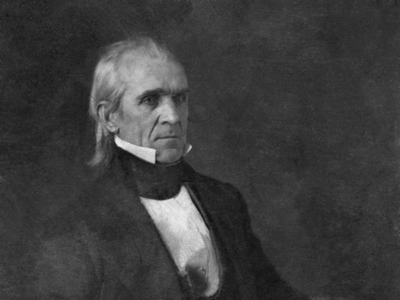 United States president James Knox Polk