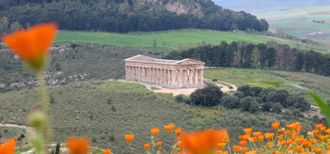 The Greek temple of Segesta