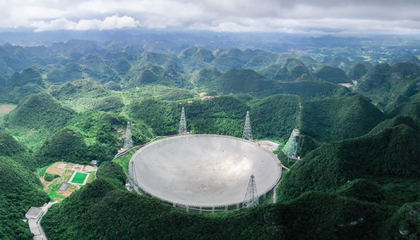 Giant Chinese Telescope Joins the Search for Alien Radio Signals