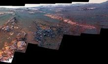NASA Releases Opportunity Rover's Final Panorama Photograph