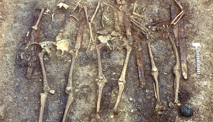 How Did These Hostage Children End Up Buried With Elite Germanic Warriors?