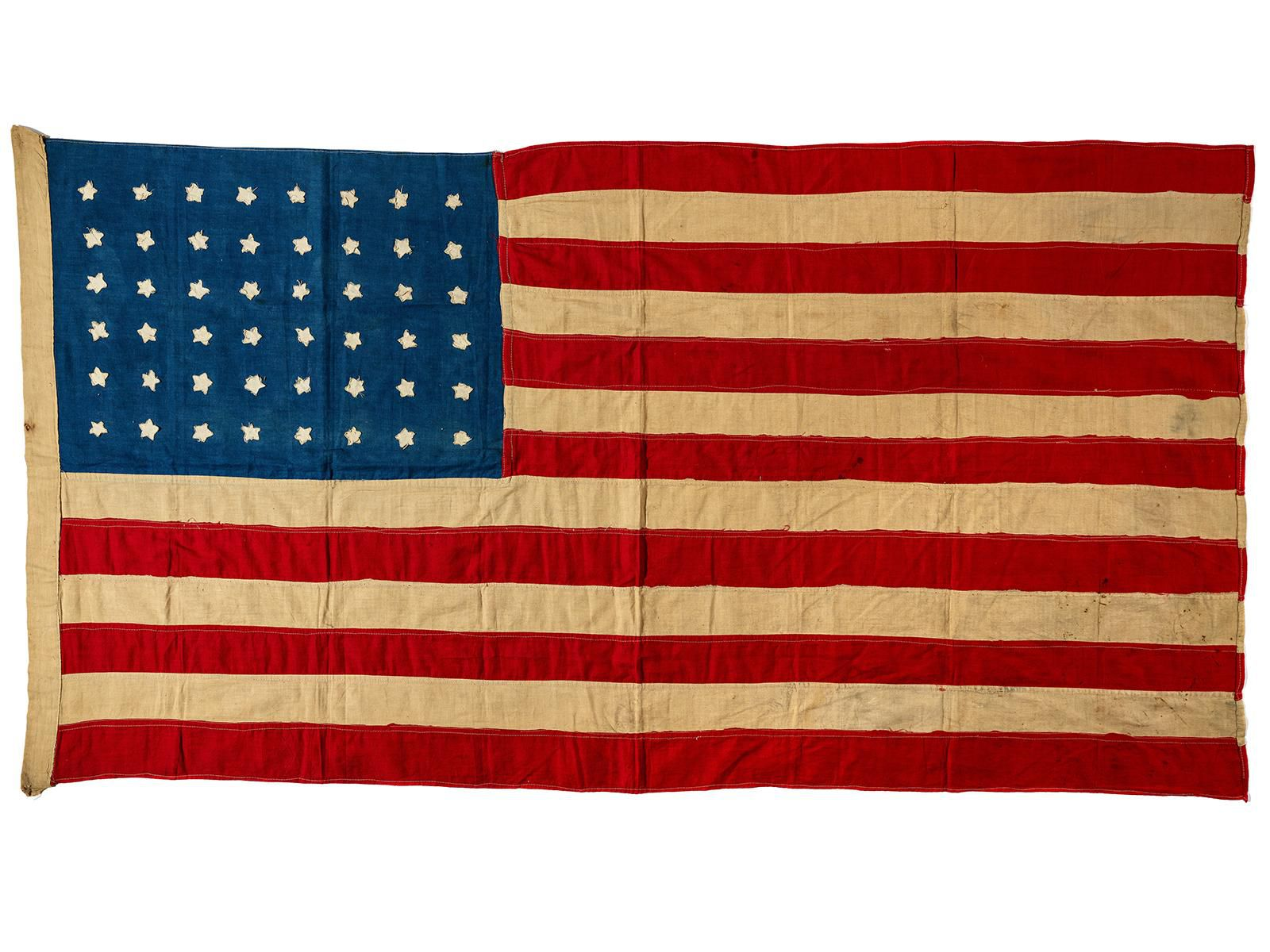 A Hundred Year Old Handmade American Flag Flies Home To Scotland