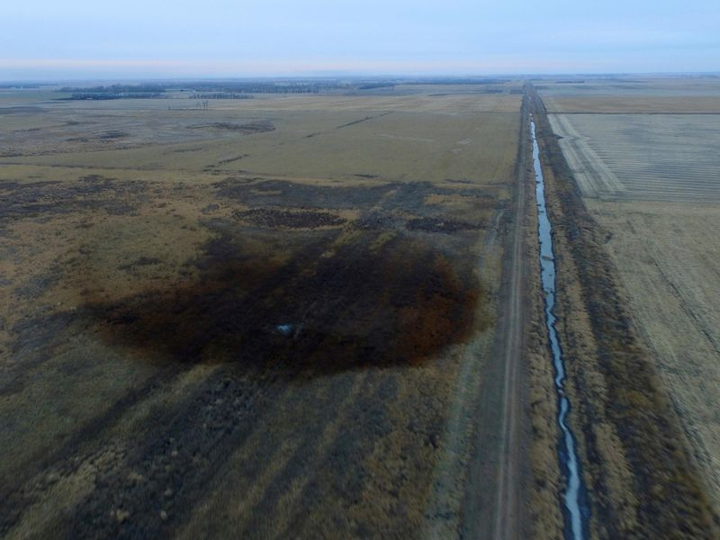 Keystone pipeline leak in South Dakota about double previous estimate: paper