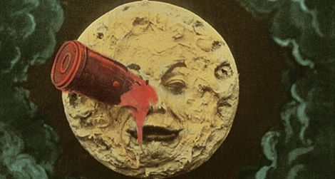 Frame enlargement from Le Voyage Dans La Lune/A Trip to the Moon