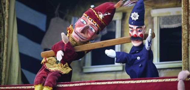 Are Punch And Judy Shows Finally Outdated Arts Culture