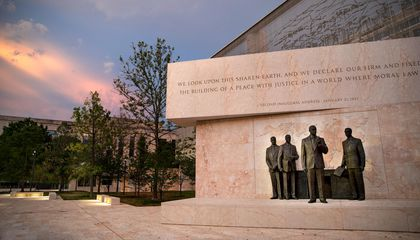 Controversial, Long-Delayed Eisenhower Memorial Finally Makes Its Debut