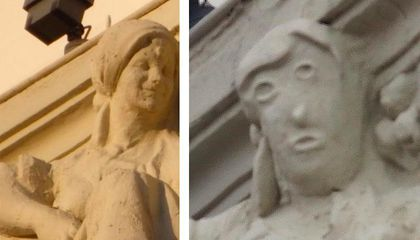 Botched Art Restoration in Spain Renders Smiling Statue Unrecognizable
