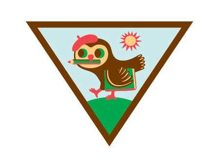 the girl scouts newest badges bring art outside smart