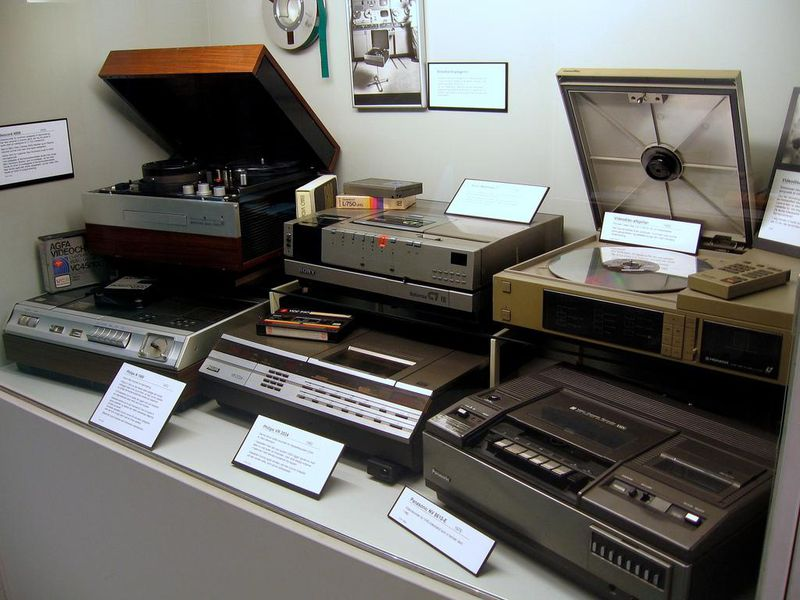 Old VCRs