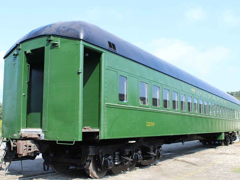 Jim Crow Era Railway Car