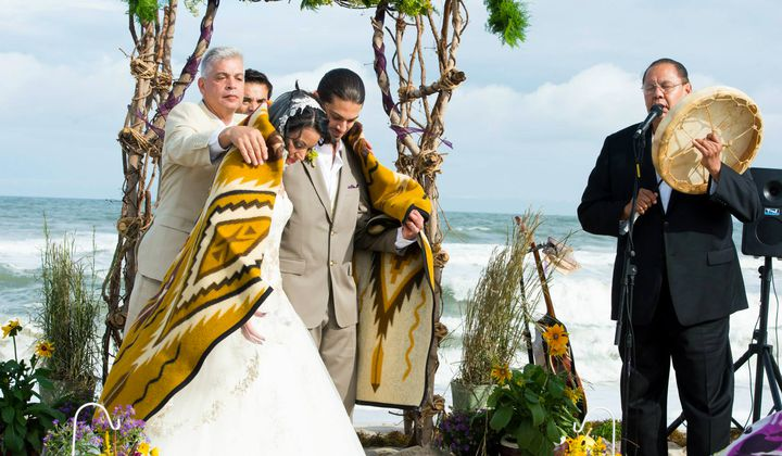 Importance of wildlife conservation in points - An Indigenous couple marries on the beach at Assateague Island National Seashore and Assateague State Park. Many of the United States' National Parks are places of historical, cultural, and sacred meaning for Native communities. (Photo used with the permission of Desirée Shelley Flores)