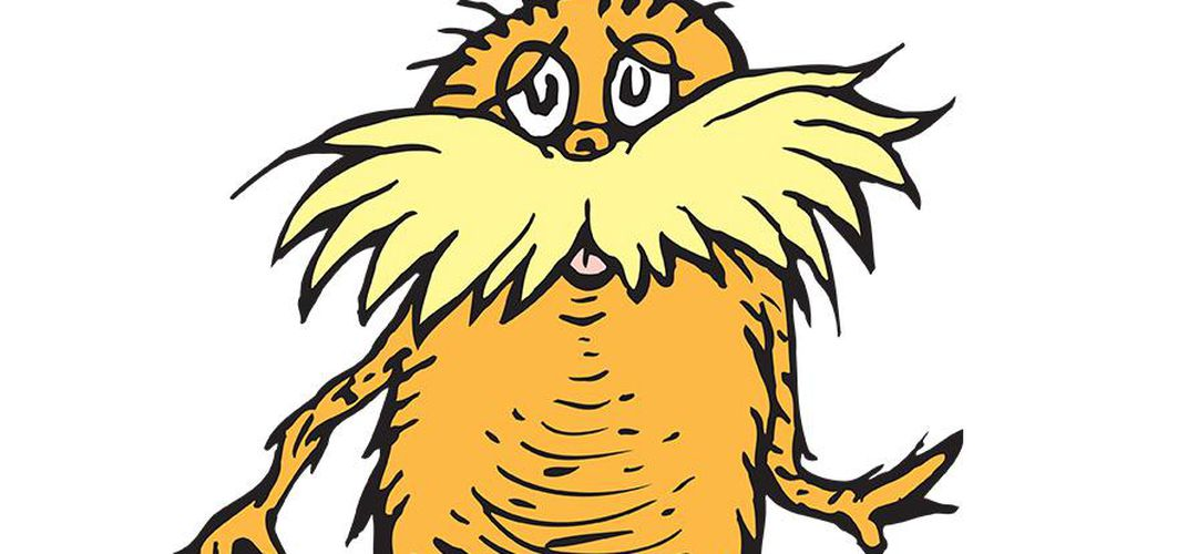 Caption: Did Dr. Seuss Model the Lorax On a Monkey?
