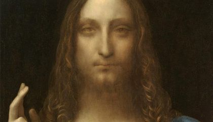 New Research Suggests 'Salvator Mundi' Originally Looked Completely Different