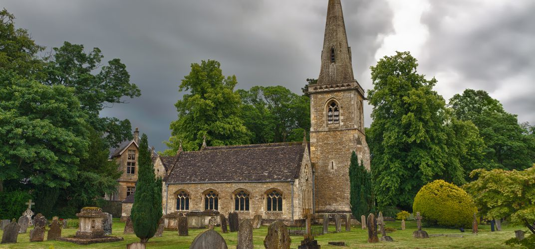 A church in the Cotswolds