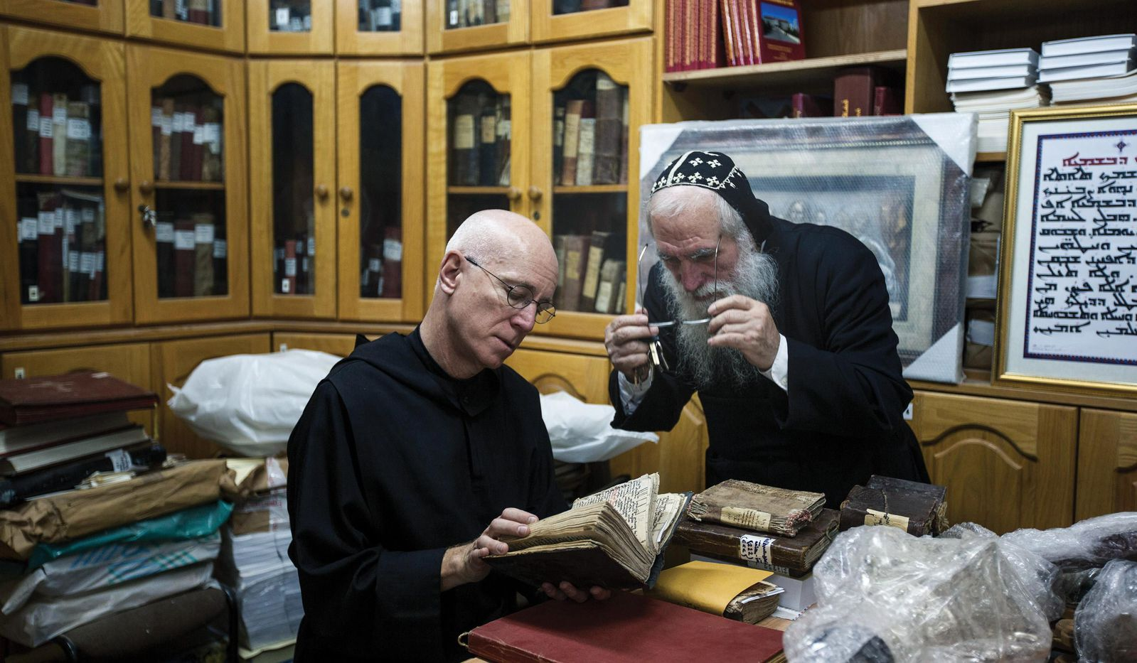 When Columba Stewart, a 63-year-old Benedictine monk based in Minnesota, arrived at the Kaiser Library, a government- affiliated archive in Kathmandu,