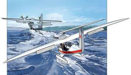 Burt Rutan's Ski-Gull and Other Would-Be Seaplanes