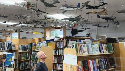 This New Hampshire Bookstore Has Its Own Air Force