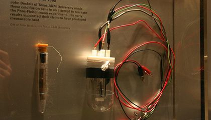 """The Man who """"Discovered"""" Cold Fusion Just Passed Away"""