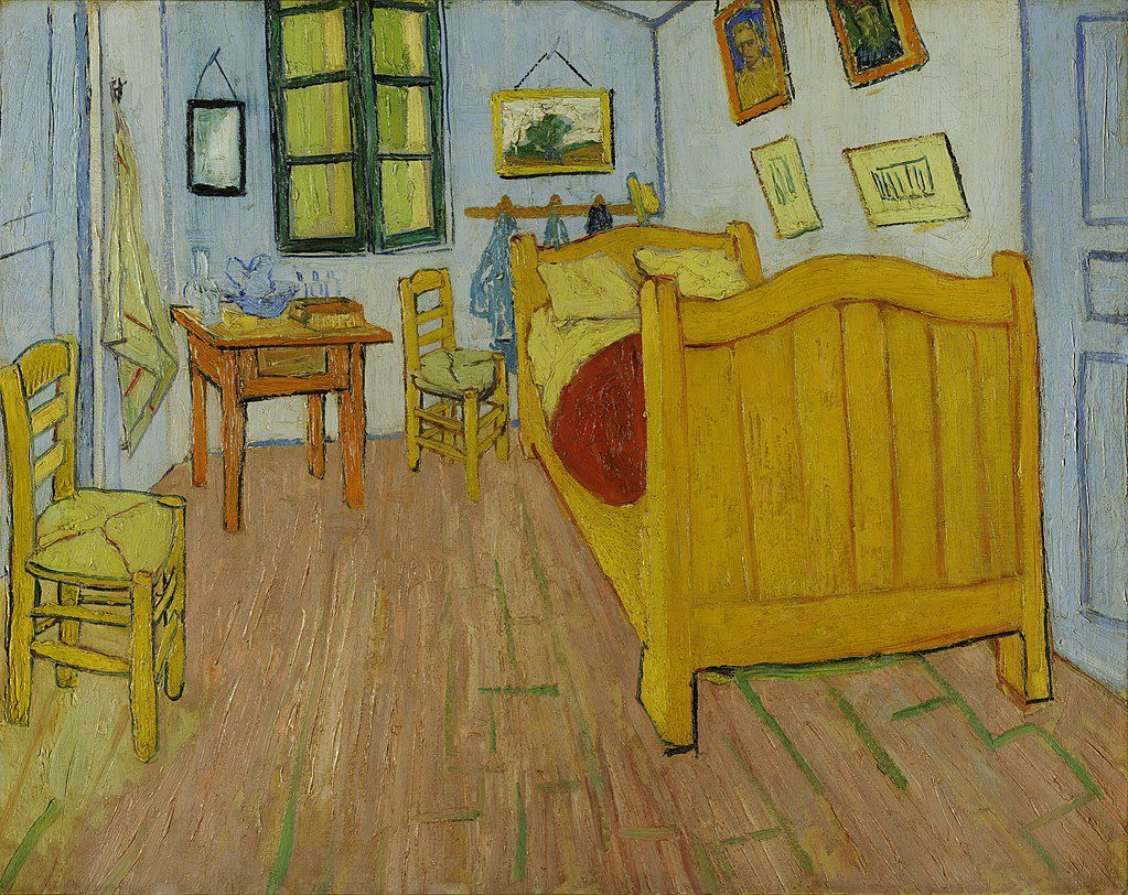 "Vincent van Gogh, ""The Bedroom"""