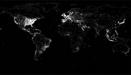 The World According to Twitter, in Maps