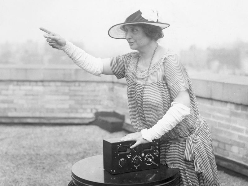 Helen Keller and radio