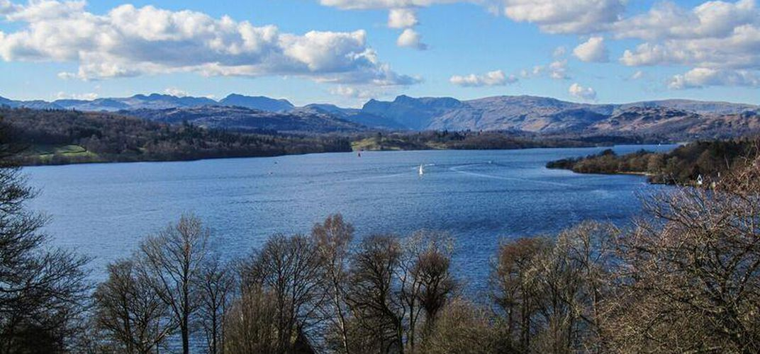 Lake Windermere, in England's Southern Lake District