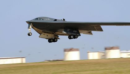 How often does the B-2 fly?