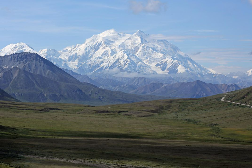 Mount Denali, formerly Mount McKinley