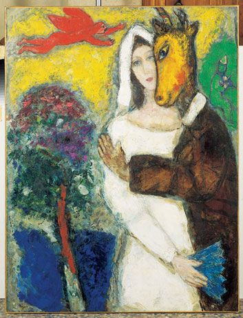 The Elusive Marc Chagall Arts Culture Smithsonian