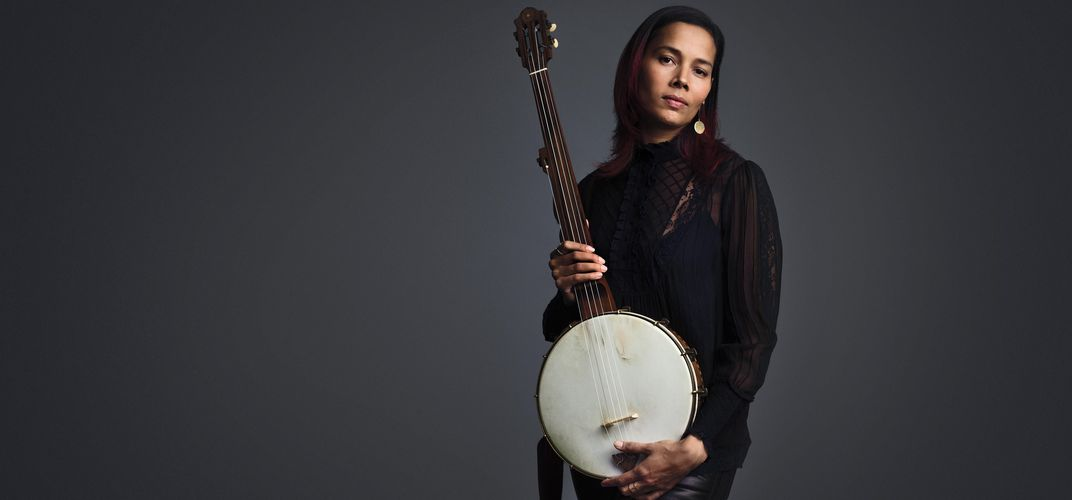 Caption: Rhiannon Giddens' String Theory
