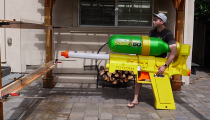 Ex-NASA Engineer Builds World's Largest Super Soaker