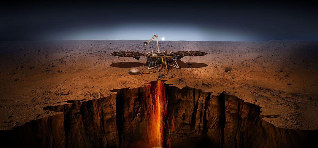 Caption: NASA to Attempt Eighth Mars Landing in One Week