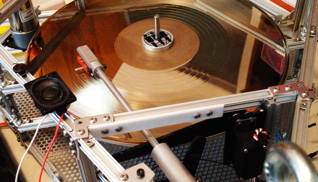 How Engineers Got a Vinyl Record to Play in the Stratosphere | Smart