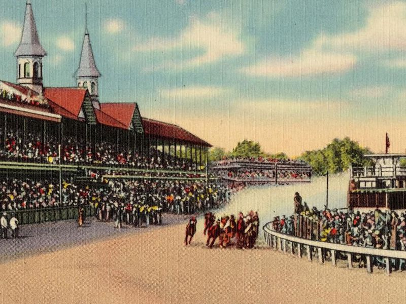 From 1921 to 2000, no black jockeys competed.