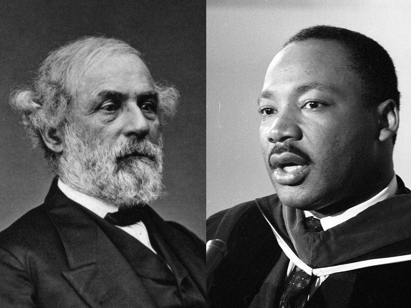 Some States Celebrate Mlk Day And Robert E Lee S Birthday On The
