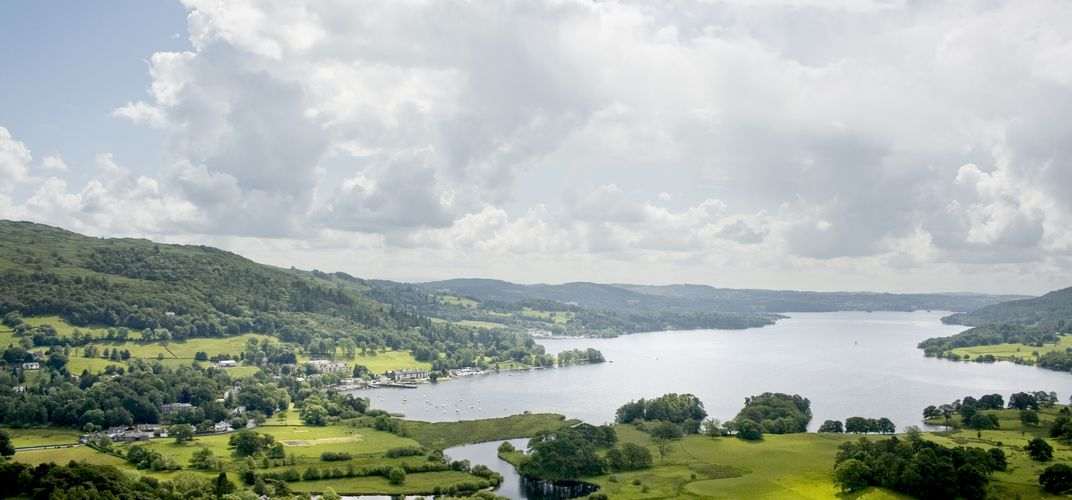 Lake Windermere, England's Lake District