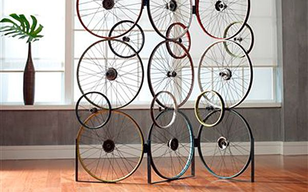 Bikes can make your home look wheely cool