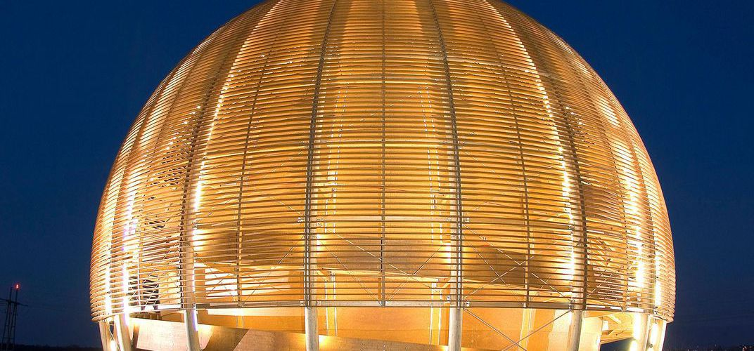 The Globe of Science and Innovation at CERN. Credit:  Maximilien Brice / CERN