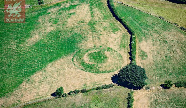 A Heat Wave is Revealing Historic Sites in Wales