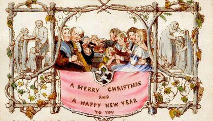 The History Of The Christmas Card History Smithsonian Magazine